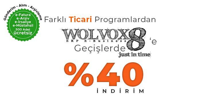 Farklı Programlardan WOLVOX8 Geçiş