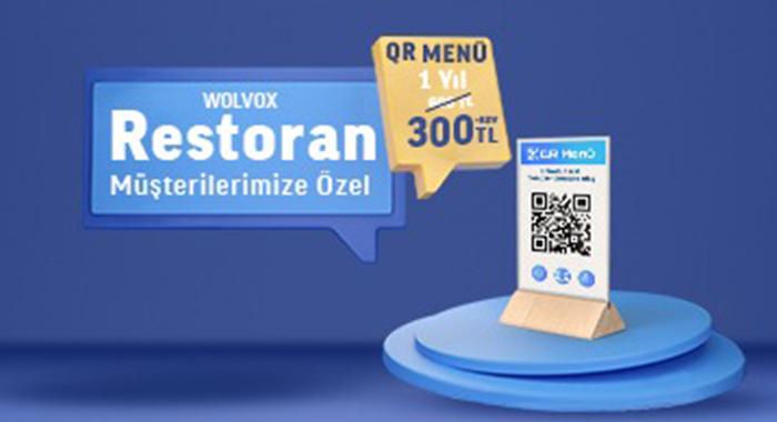 WOLVOX Restoran Müşterilerimize Özel QR Menü