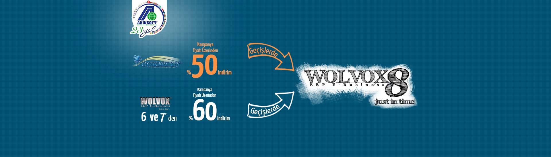 Octoplus, WOLVOX 6 ve 7 den WOLVOX 8'e geçiş