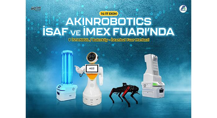 AKINROBOTICS ISAF ve IMEX FUARINDA
